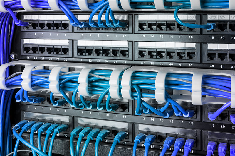 VOICE DATA FIBER OPTIC LAN NETWORK CABLING AND WIRING INSTALLATIONS
